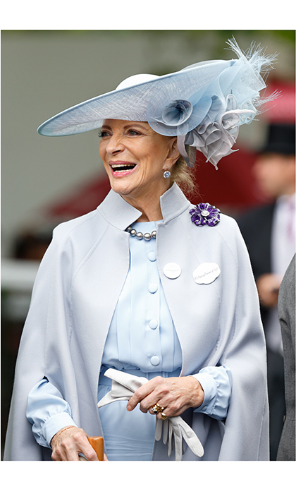 British royal Princess Michael of Kent – married to King George V's grandson, Queen Elizabeth's cousin Prince Michael of Kent – has long been a fashion icon. She's maintained her classic style throughout the years and can still be seen at many events looking the picture of elegance.