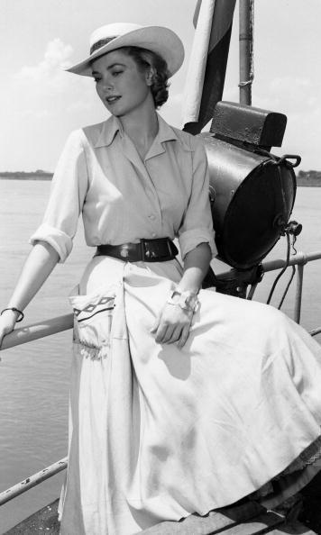 Hollywood actress Grace Kelly became a Princess of Monaco when she married Prince Rainier III in 1956. She brought her Hollywood glamour to the principality and became known for her timeless style – even inspiring Hermès' best-selling 'Kelly' bag.