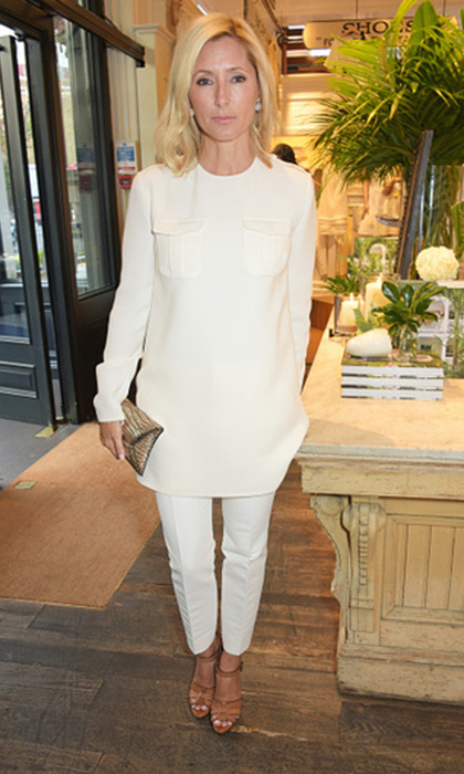 Princess Olympia's mom Princess Marie Chantal of Greece is known for her contemporary looks and has become friends with some of the world's top fashion designers like Valentino and Ralph Lauren.