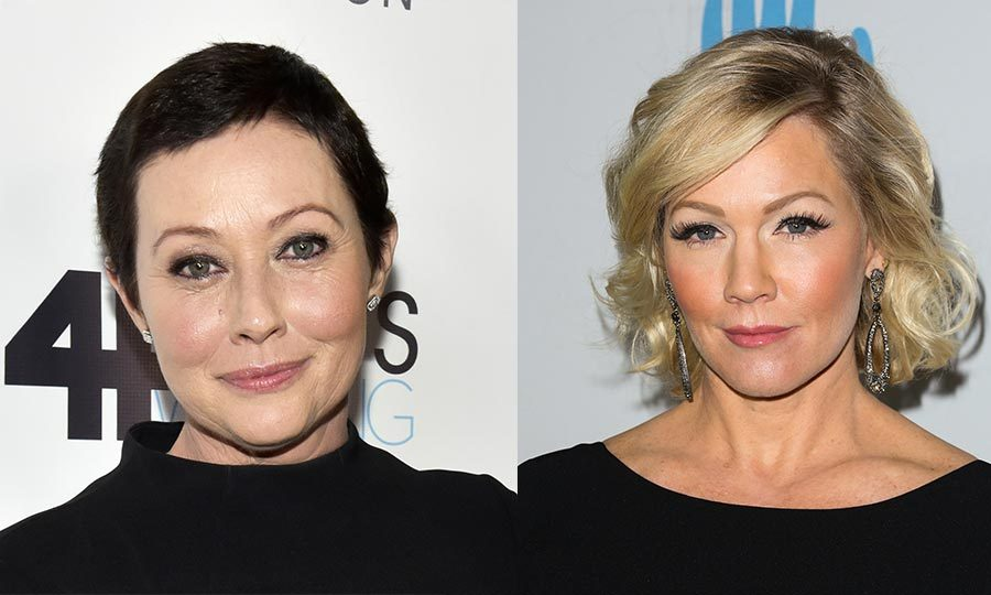 <h2>Shannen Doherty and Jennie Garth</h2>