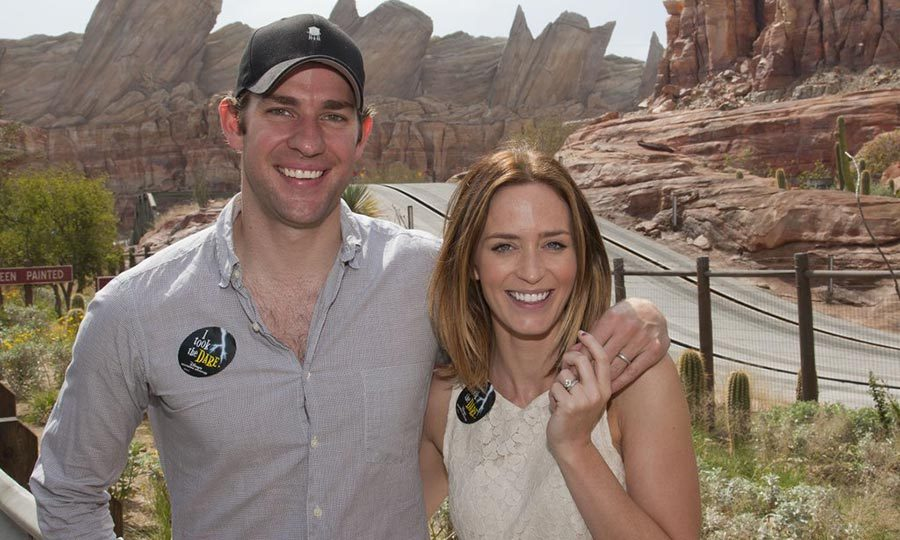 The young-at-heart couple enjoyed a day out together at Disney's Cars Land in 2012. 