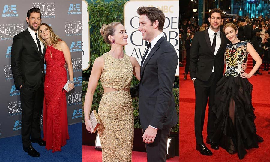 "Love was on John Krasinski's mind when he first met Emily Blunt back to 2008. ""I met her and I was so nervous. I was like, 'Oh god, I think I'm going to fall in love with her.' As I shook her hand I went, 'I like you,'"" he confessed during an appearance on <em>The Ellen DeGeneres Show.</em>