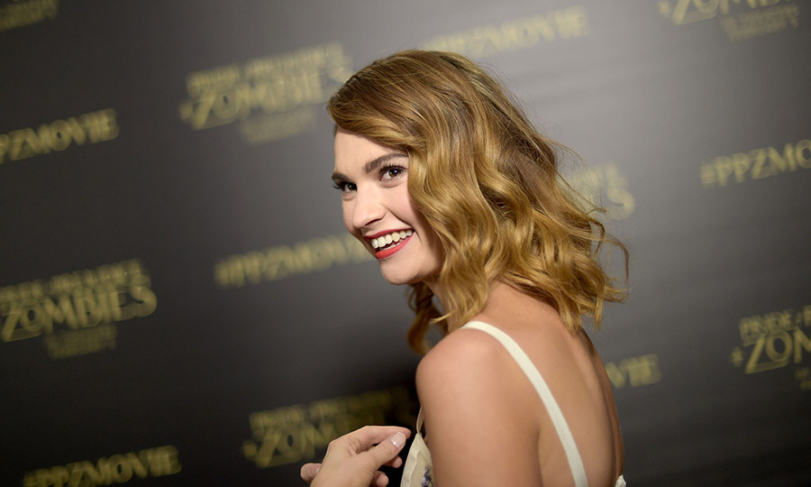 Lily James has hinted that she is in talks over a Downton Abbey film.
