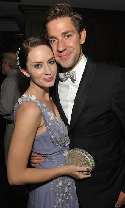 The parents of two looked adorable at an Emmy Awards after party in 2010. 