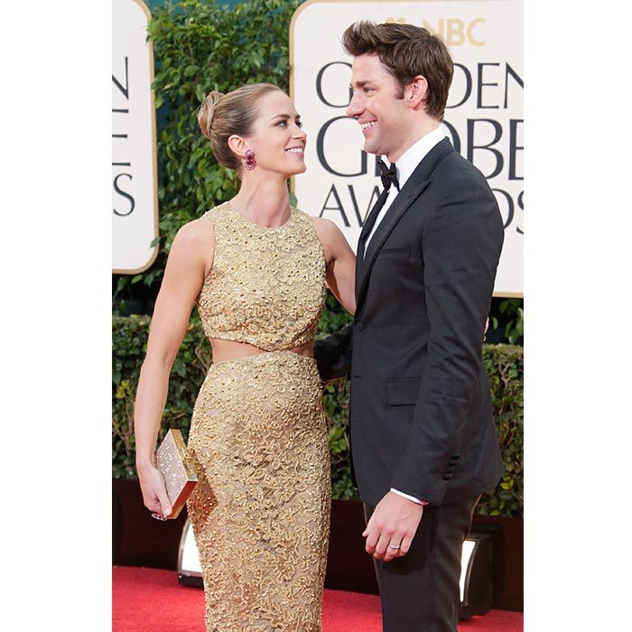 The couple showed that they have undeniable chemistry at the 2013 Golden Globes.