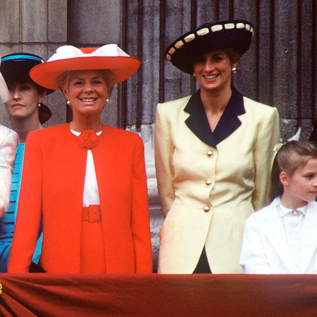 "<p>At the Trooping the Colour back in 1991, <strong><a href=""https://fashion.hellomagazine.com/tags/princess-diana"">Princess Diana</a></strong> looked sensational in a sharp yellow jacket with a contrasting navy collar and shoulder pads and gold buttons. A matching hat and statement gold shell earrings completed her fashion-forward look.</p>