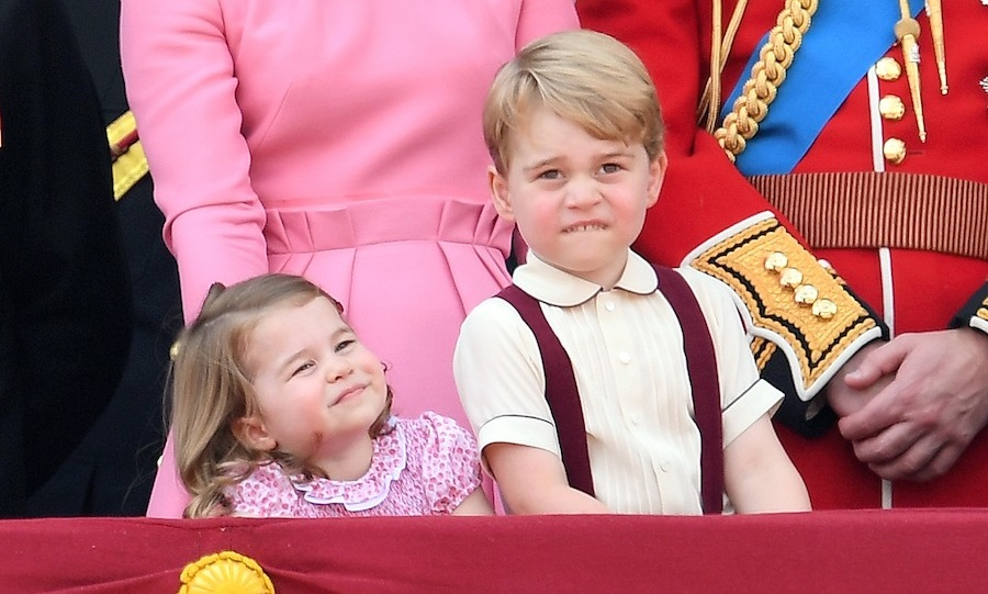 Prince George and Princess Charlotte are one adorable pair. 