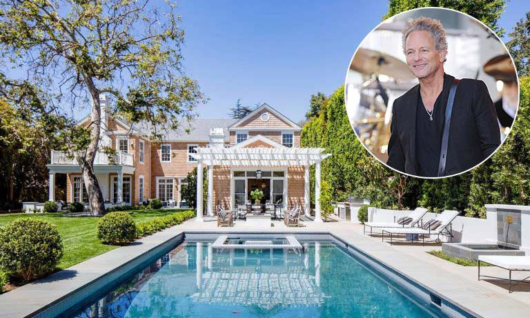 <p>Lindsey Buckingham, the lead guitarist for Fleetwood Mac, has also proved himself to be a successful property developer with his latest project. The musician and his wife Kristen have listed a six-bedroom, seven-bathroom home that they developed in Brentwood, Los Angeles for $22.5million – at a huge profit of $16.7 million.</p>