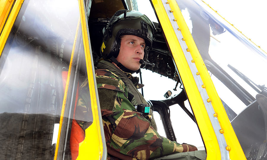 16. In 2008, he joined the Royal Air Force, later being presented with his RAF wings by his father. He was known by his fellow airmen as 'Billy the Fish', a pun on the name 'William Wales'.