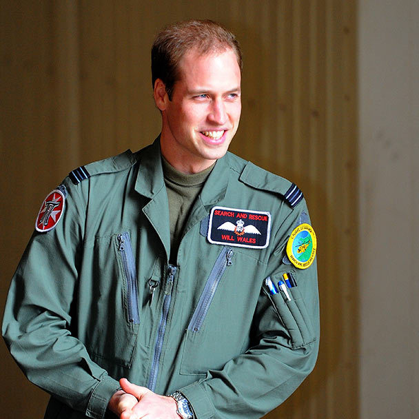 1. After university, Prince William trained at Sandhurst military academy. From there he was commissioned as an officer in the Blues and Royals division of the Household Cavalry.