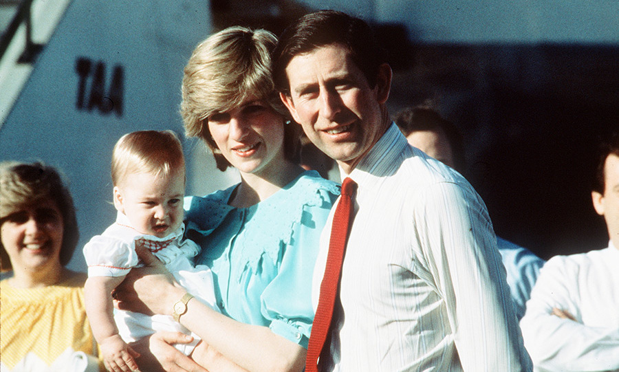 6. William made his first overseas trip when he was just nine months old, joining his parents on an official visit to Australia and New Zealand in 1983. This was the result of a groundbreaking decision by his mother Princess Diana, as it was not usual then for royal children to be taken on tour.</p>