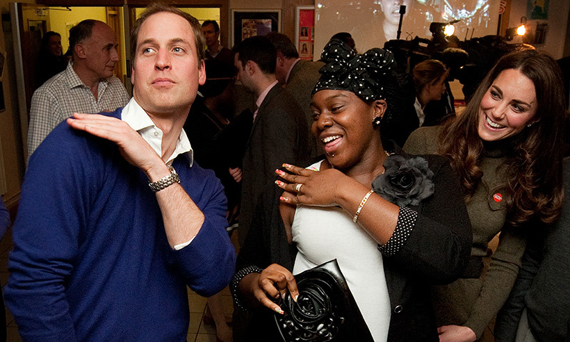 The Duke of Cambridge danced up a storm at Centrepoint's Chamberwell Foyer in December 2011. 