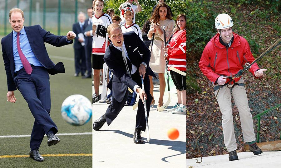 From trying his hand at Canada's national sport in Yellowknife to adding new dance moves to his repertoire, Prince William never turns down the chance to experience new things. 