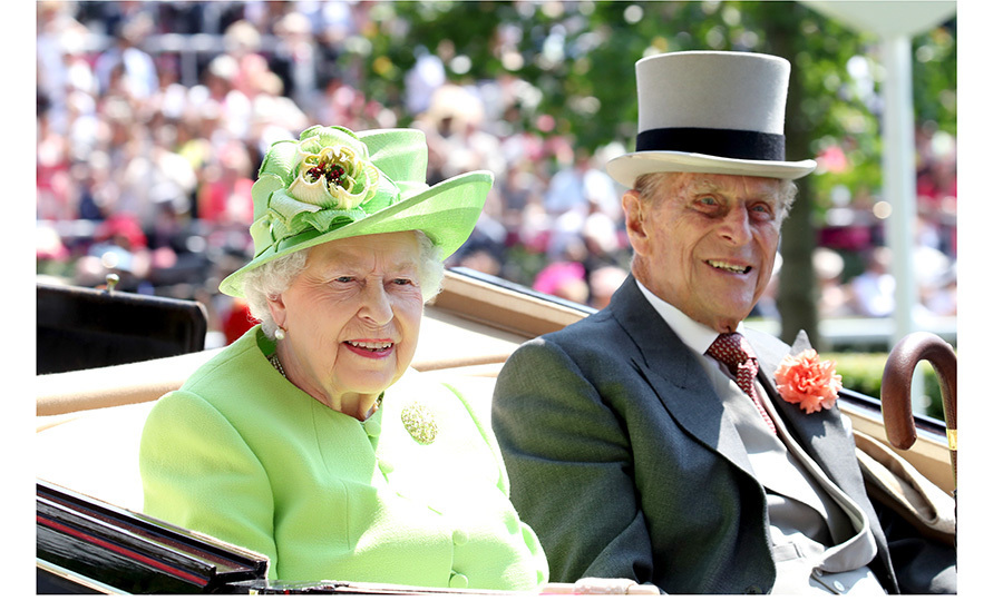 <p>Queen Elizabeth, 91, was escorted by her 96-year-old husband Prince Philip, who recently announced his plans to retire later this year.</p>