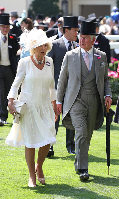 <p>A dapper Prince Charles was joined by wife Camilla, Duchess of Cornwall for day one of the festivities.</p>