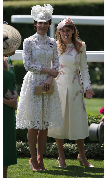 <p>The Duchess of Cambridge was in an upbeat mood sharing plenty of laughs with her family, including her cousin-in-law Princess Beatrice. </p>