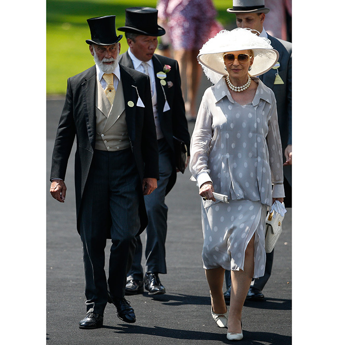 <p>Prince and Princess Michael of Kent, looking elegant as always, also made an appearance. </p>