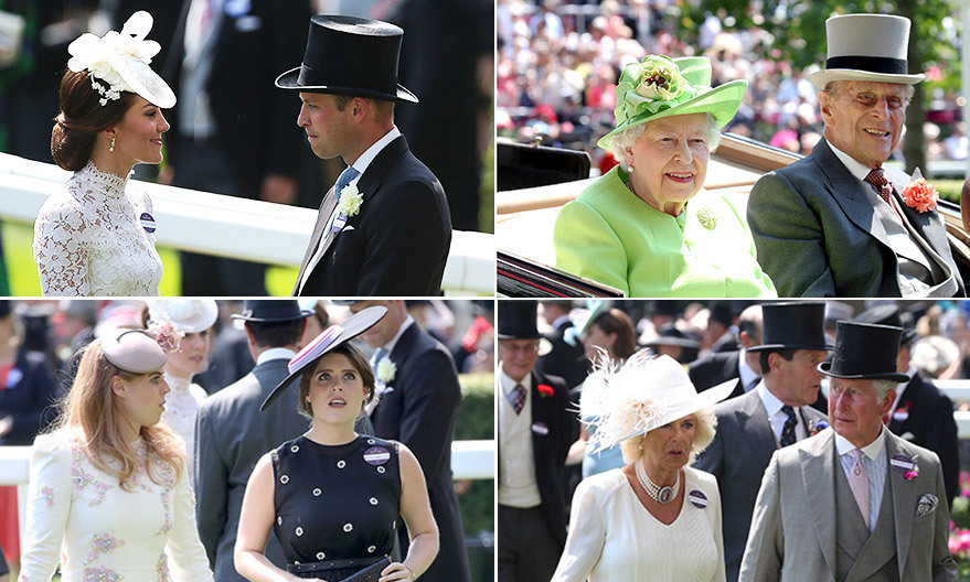 The exclusive five-day racing event held at England's Ascot Racecourse is one of the Royal Family's most exciting and traditional events of the year. 