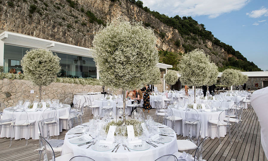 Inside Victoria Swarovskis Spectacular Wedding In Italy Hello
