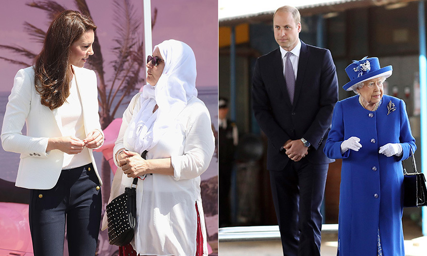 On Friday, June 16, the Duke and Duchess of Cambridge went on separate engagements in London. Prince William accompanied his grandmother Queen Elizabeth to visit the site of the tragic Grenfell Tower fire, as his wife Kate took part in an official engagement in her role as patron of the 1851 Trust.