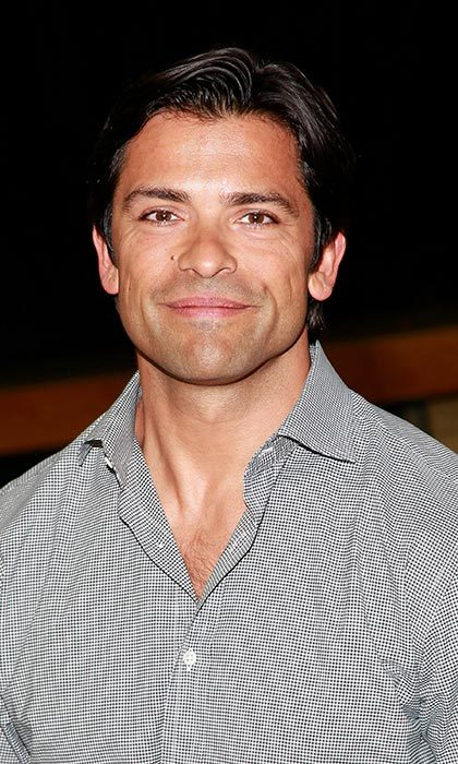 Mark Consuelos is another new face joining the cast for season two. 
