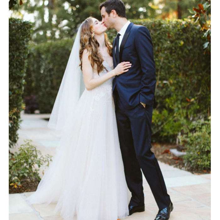 <h3>Danielle Panabaker and Hayes Robbins</h3>
