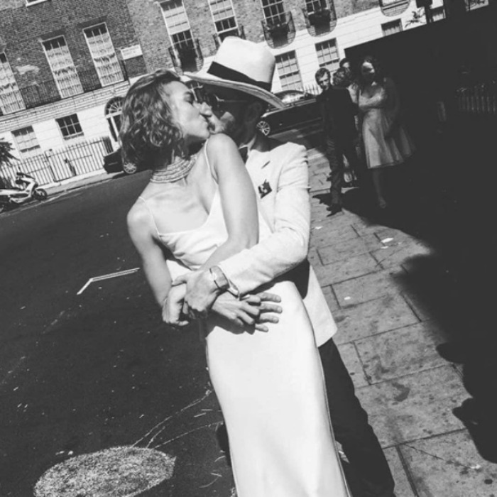 <h3>Arizona Muse and Boniface Verney-Carron</h3>