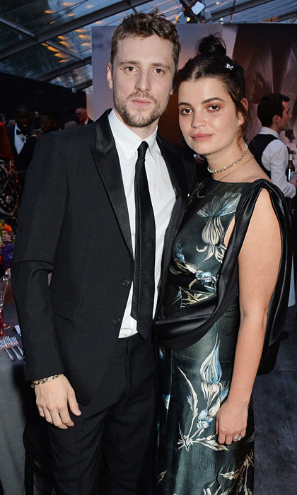 <h3>Pixie Geldof and George Barnett</h3>