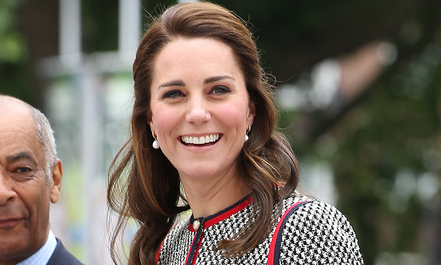 Kate Middleton Wears Gucci Minidress For Visit To The