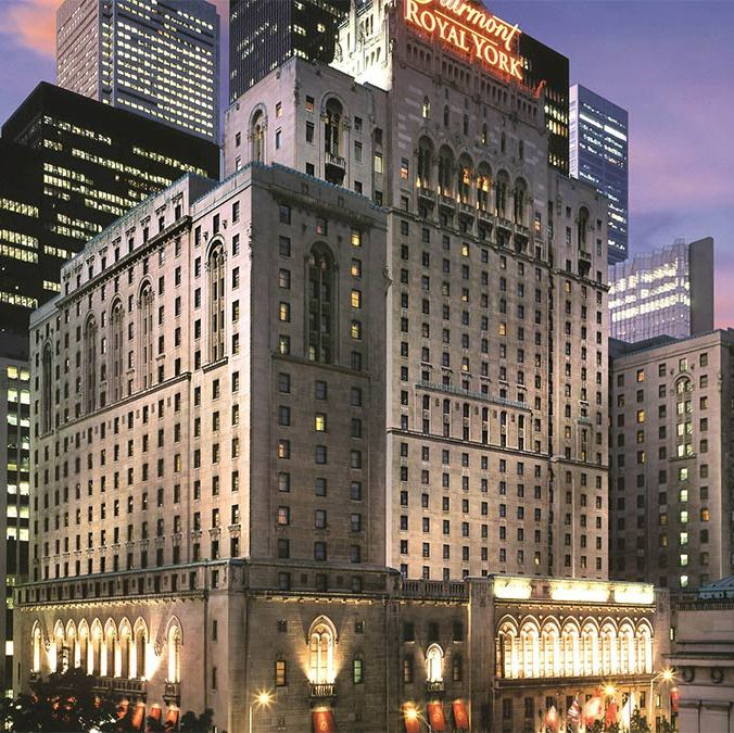 <h3><strong>Fairmont Royal York, Toronto</strong></h3>