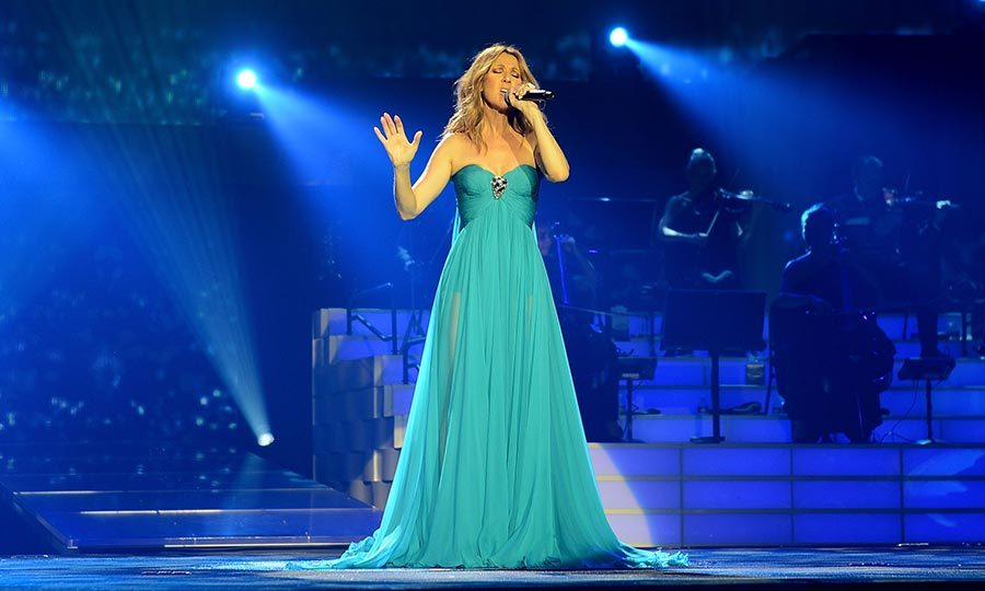 On average, Celine performs <b>SEVENTY</b> shows a year at The Colosseum at Caesars Palace in Las Vegas. She made her debut in Sin City back in 2003.