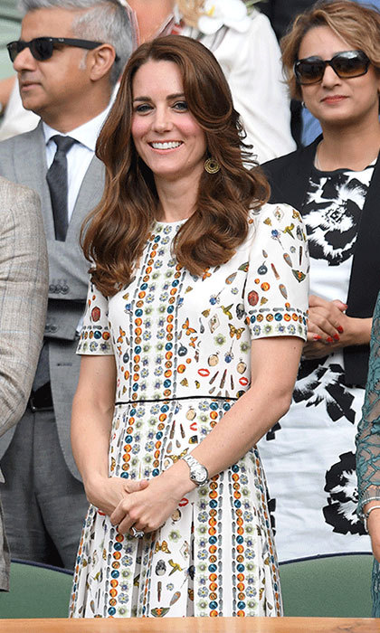 "<p><strong><a href=""/tags/0/kate-middleton"">Kate </a></strong>enjoyed several games during Wimbledon back in 2016, wearing an array of vibrant summer-ready dresses, including this beautiful Alexander McQueen patterened number.</p>