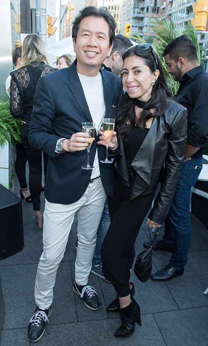 <h3> Perrier-Jouët Patio Launch </h3>