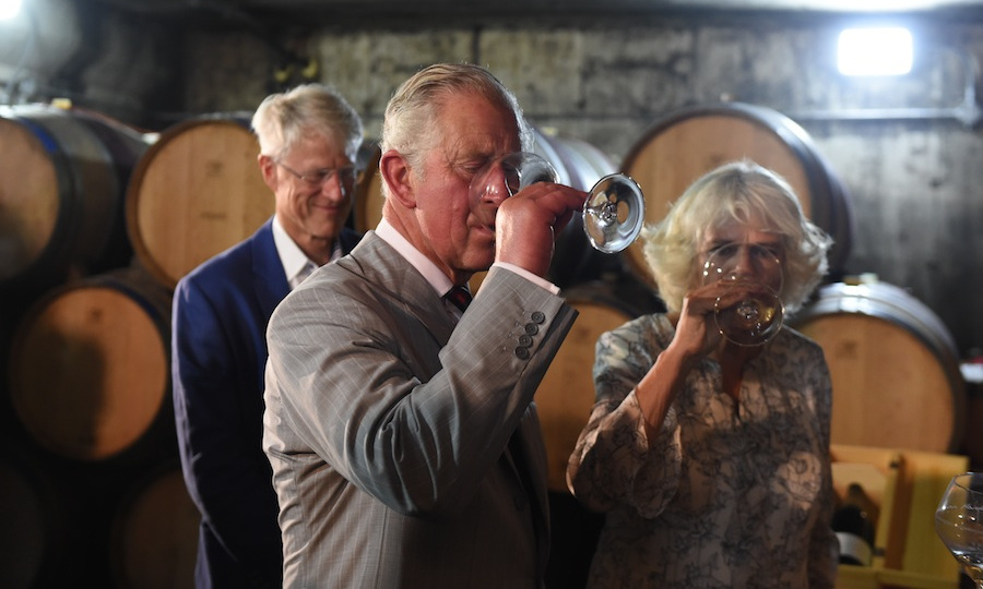 Then it was off to the Norman Hardie Winery and Vineyard for some taste testing. 