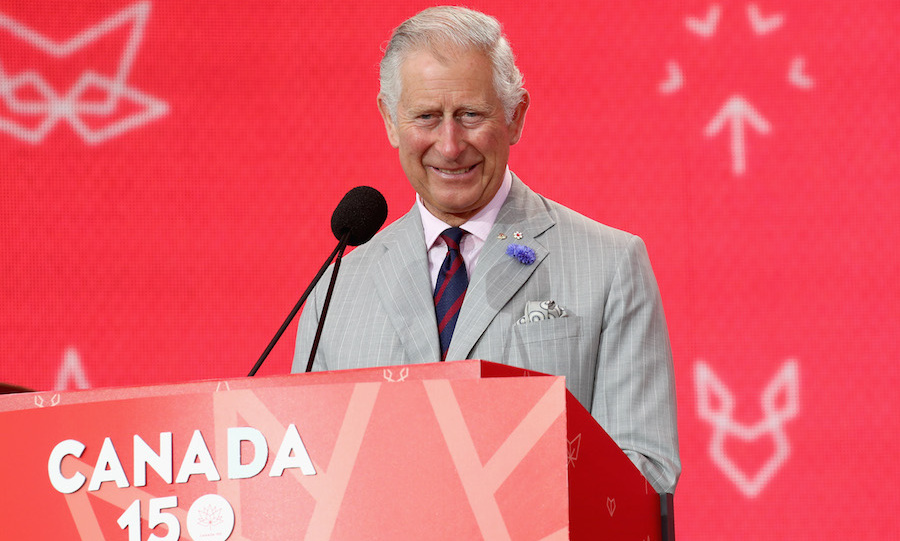 "During a speech on Parliament Hill, the Prince of Wales appaluded Canada for its reputation on the world stage. ""We should be clear and proud that we are celebrating a country that others look to for example. An example of fairness and inclusion; of always striving to be better.""
