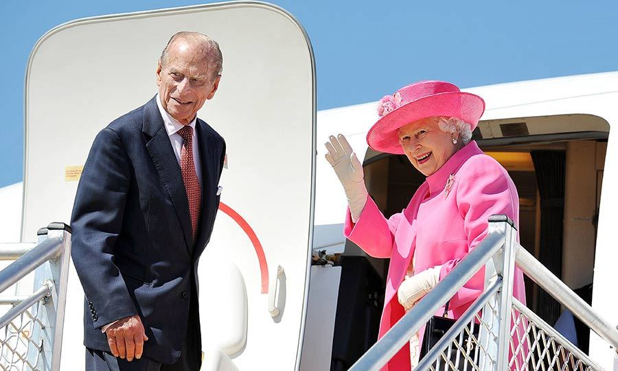The Queen and Prince Philip on their royal tour of Australia in 2011.