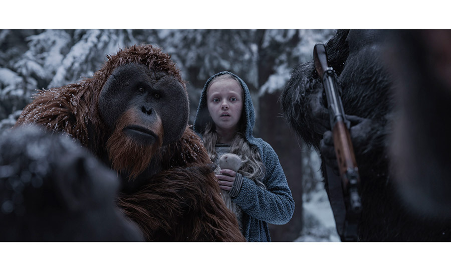 <h3>War for the Planet of the Apes</h3>