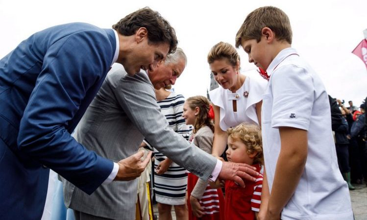 """I thought Prince George was going to come!"" Hadrien looked rather disappointed to meet Prince Charles during the Canada 150 celebrations. To be fair, Prince George was equally unimpressed to meet Prime Minister Justin Trudeau.