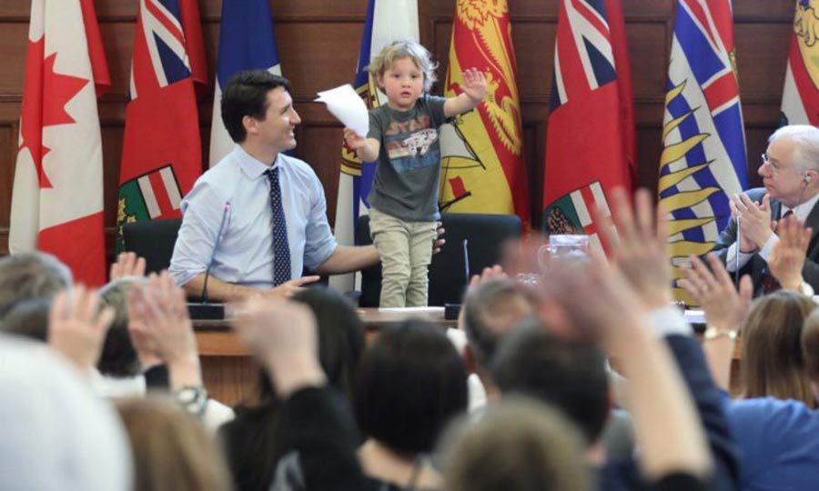 """It's time for the Jedi- ahem-this bill to end!"" The political force is strong with the youngest Trudeau.