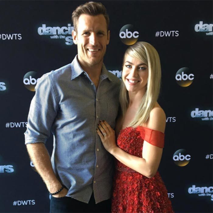 The stunning duo showed off their bond on the red carpet at the season finale of <em>Dancing With the Stars</em> in 2017.