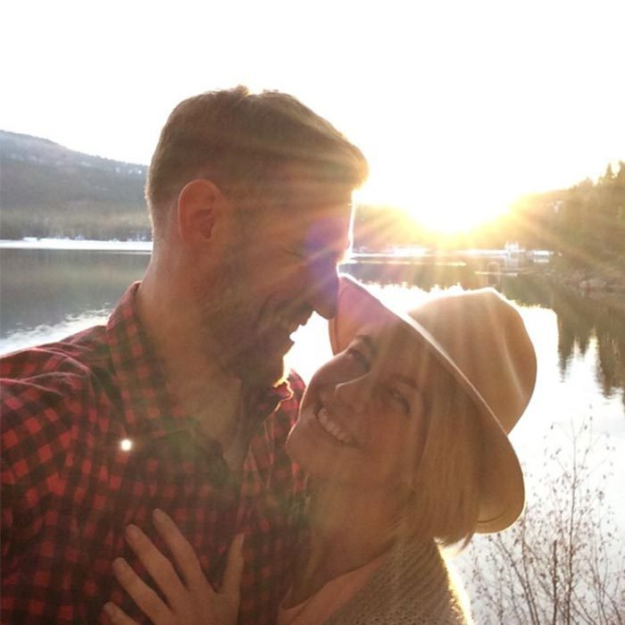 The couple is always sharing sweet snaps from their outdoor adventures, so it comes as no surprise that they decided to tie the knot lakeside in Idaho. 