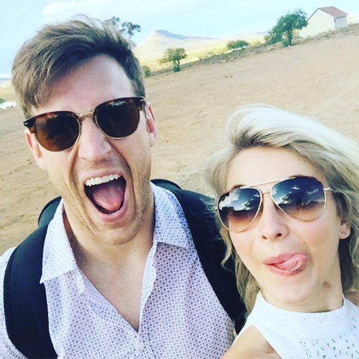 In 2016, Julianne and Brooks took their love story to Africa where they visited a wildlife reserve. 