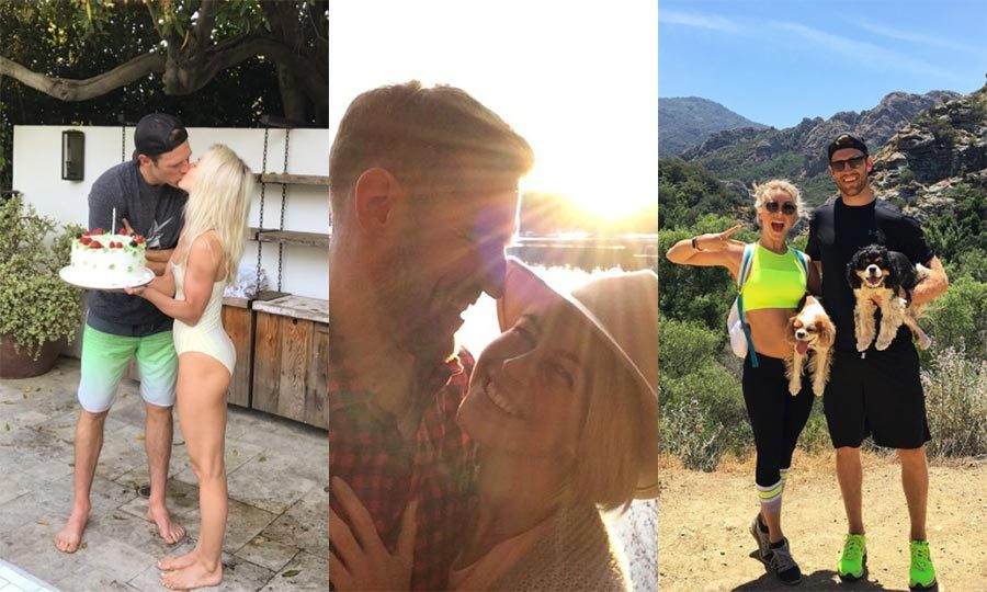 Now that they're married, Julianne Hough and her Canadian hockey player husband Brooks Laich are guaranteed to up the cuteness stakes when it comes to posting loved-up pics on social media. 