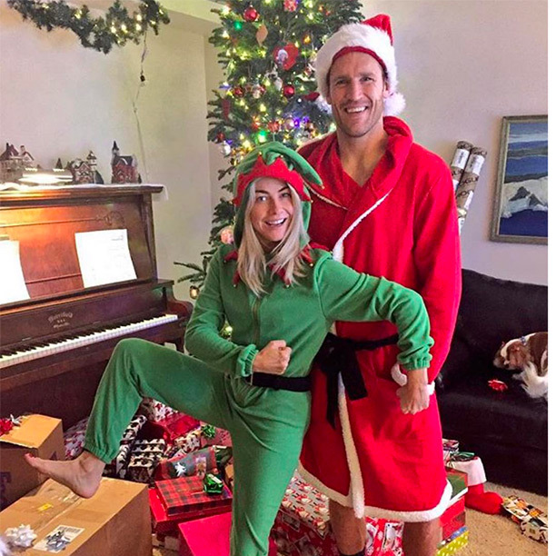 Santa and his elf!