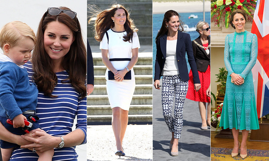 The Duchess of Cambridge always looks stylish – and the summer months are no exception. From nautical outfits to all things pleated, we've rounded up all of Kate's seasonal style  essentials. <em> -- By By Alyssa Ashton </em>