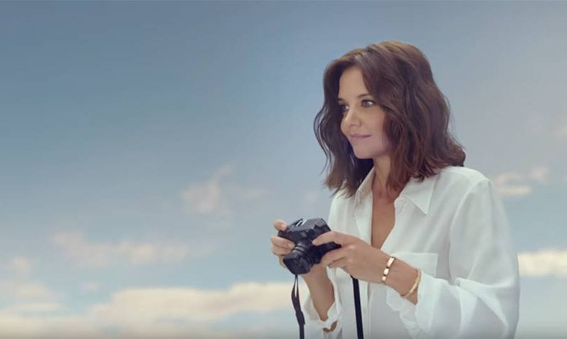 Katie Holmes in the new Air New Zealand safety video.