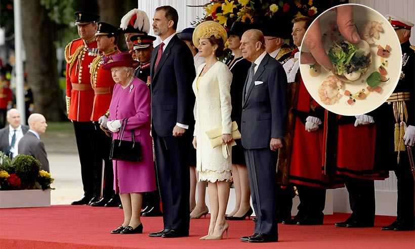 What King Felipe and Queen Letizia dined on at Buckingham Palace luncheon   HELLO! Canada