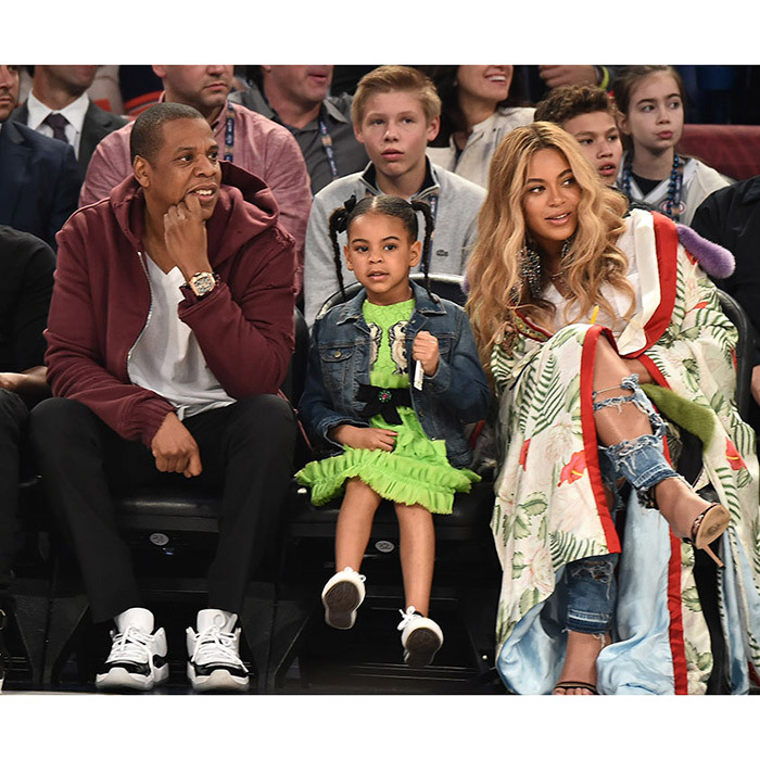 The Lemonade singer and husband JAY-Z are also parents to five-year-old Blue Ivy.