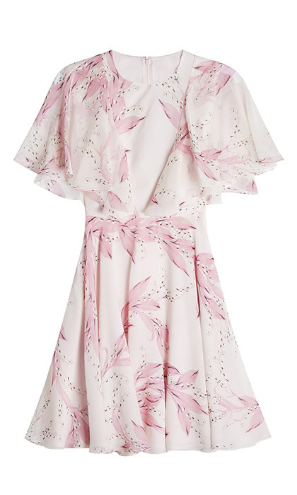 <p><strong>Giambattista Valli Printed Silk Dress</strong>, $1,600, <em>stylebop.com </em></p>