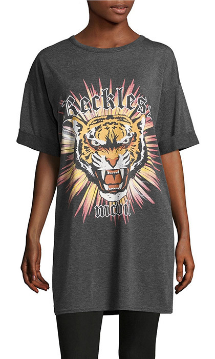 <p><strong>Misguided Tiger Graphic Slogan T-Shirt</strong>, $15, Hudson's Bay,  <em>thebay.com</em></p>